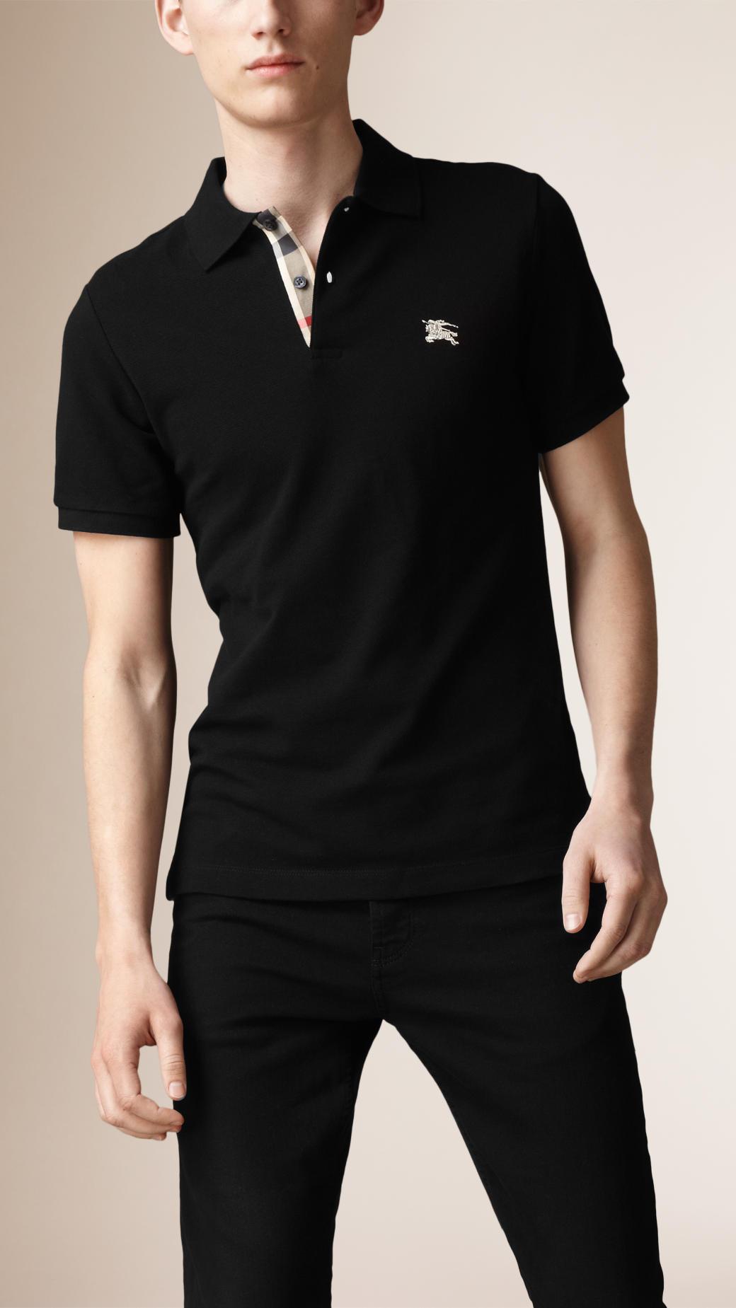 Cotton Polo Shirts Womens