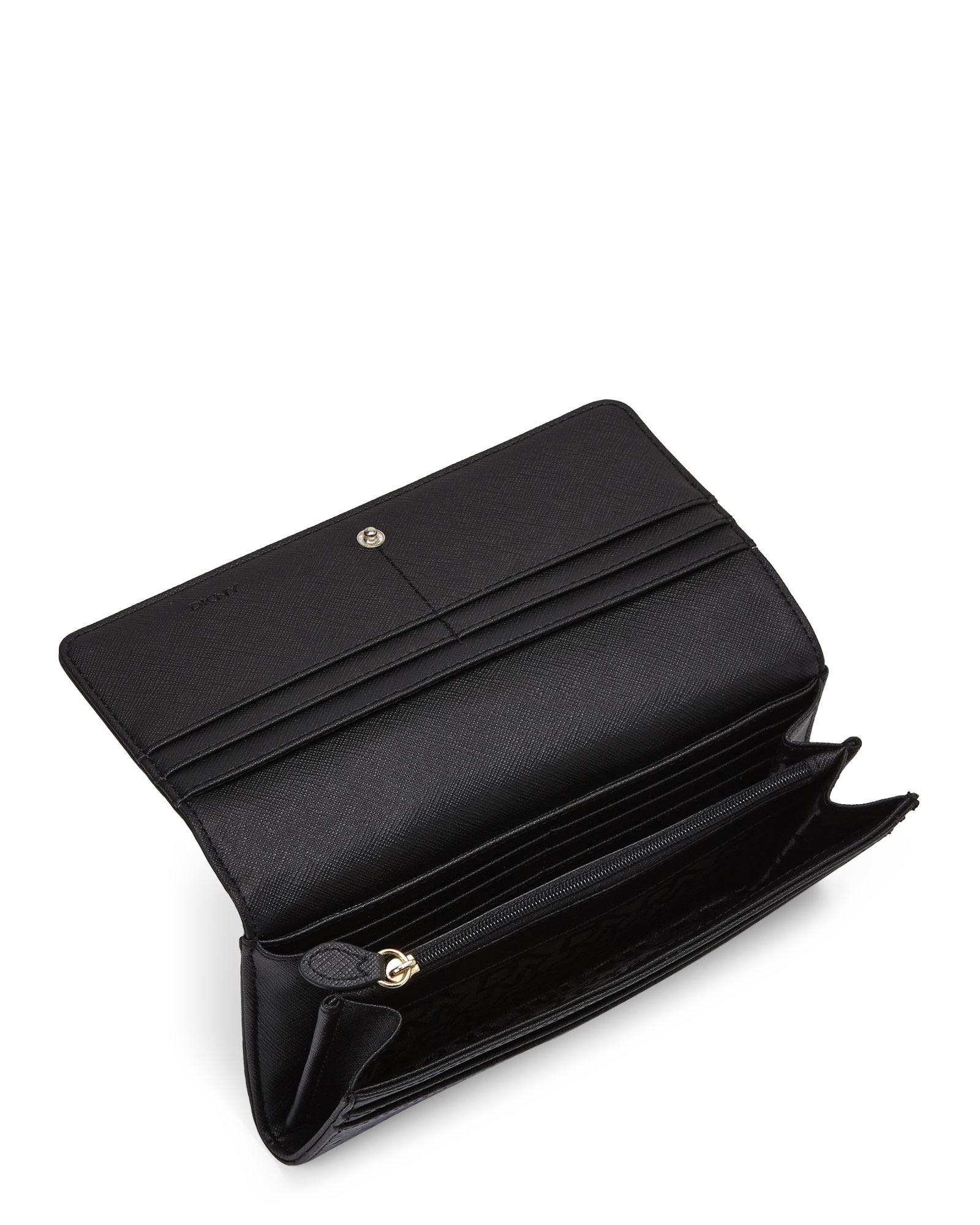 DKNY Black Leather Wallet In Gift Box for Men - Lyst |Dkny Wallet