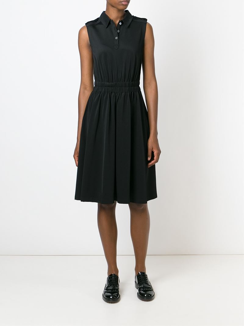 Marc by marc jacobs Sleeveless Polo Shirt Dress in Black ...