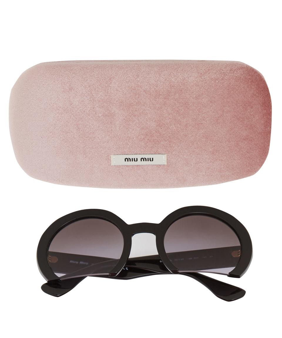 Miu Miu Round shaped sunglasses dym4guFgf