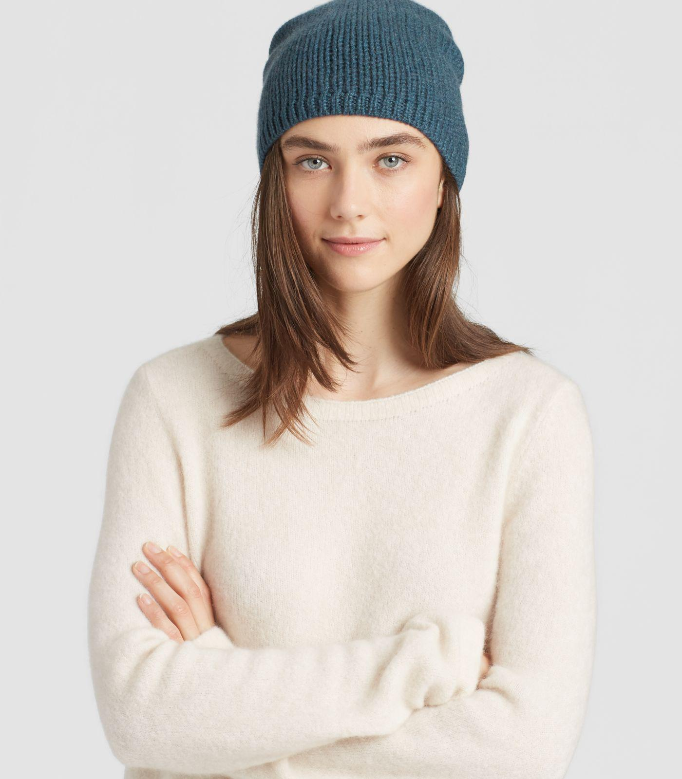 2019329ef9185 Eileen Fisher Lofty Recycled Cashmere Hat - Lyst