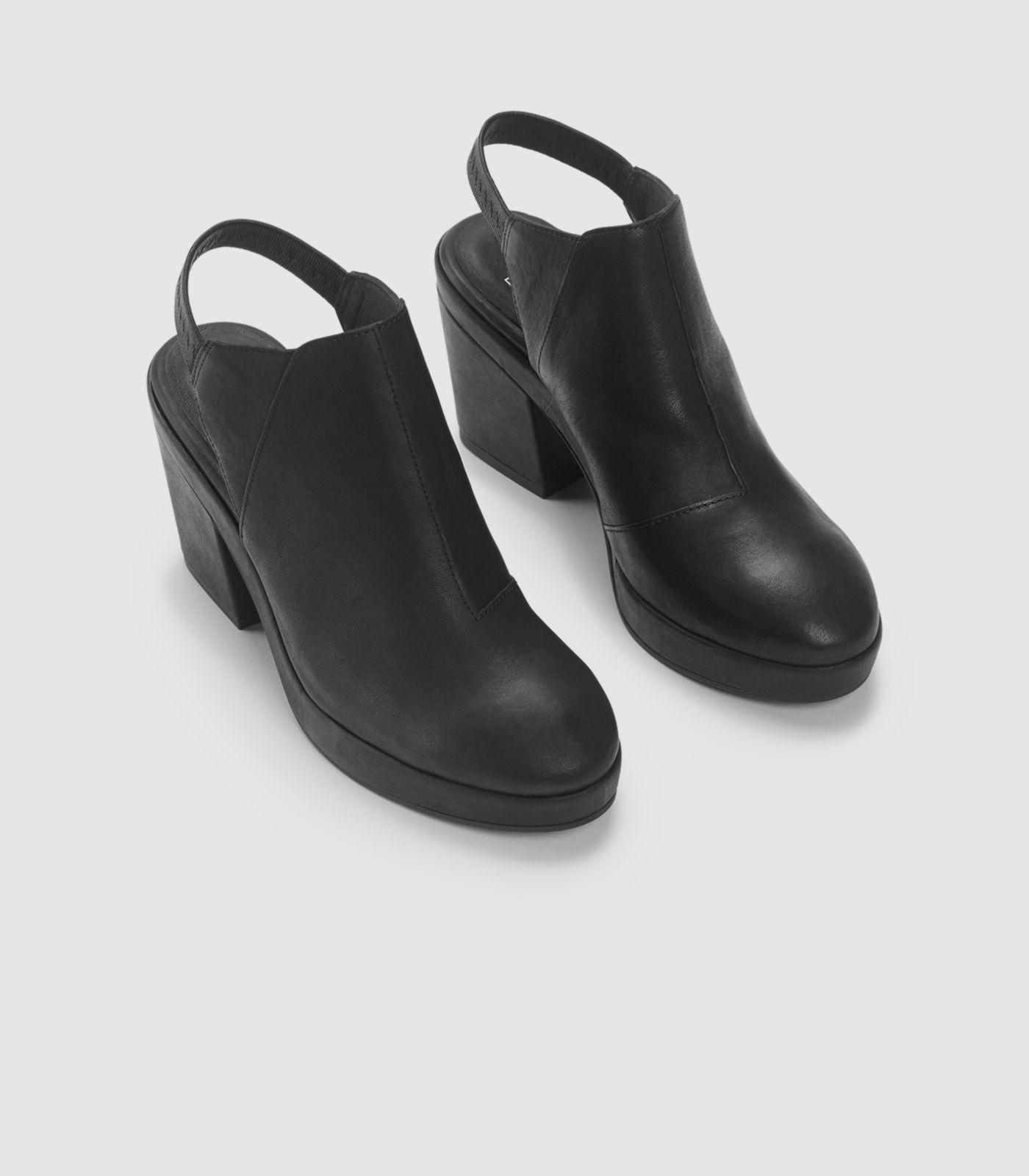 6873042055f3 Lyst - Eileen Fisher Chance Italian Leather Clog in Black