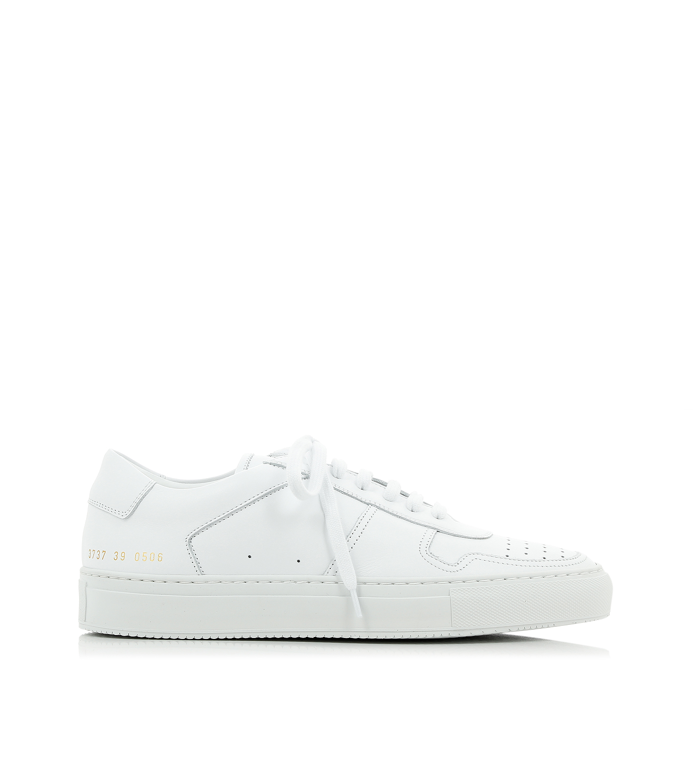 common projects bball low white sneakers in white lyst. Black Bedroom Furniture Sets. Home Design Ideas
