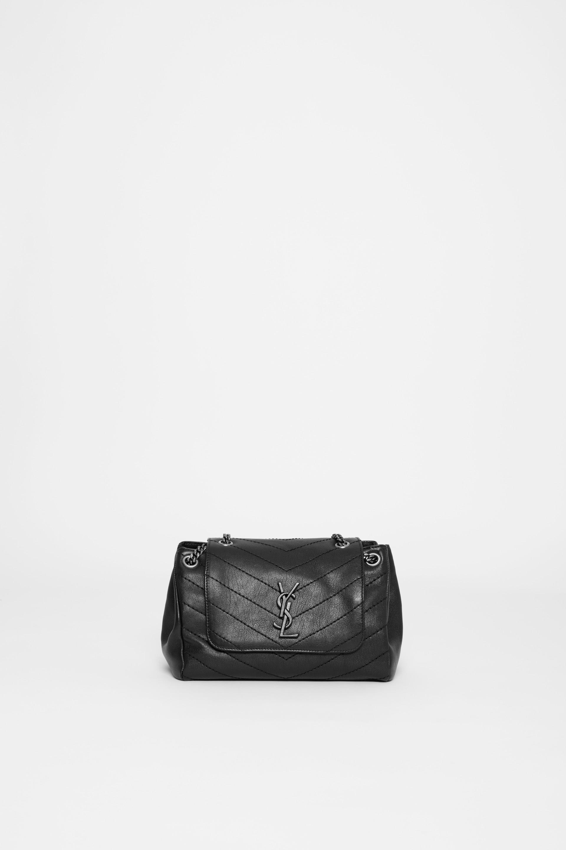 ba8ff88a11be Saint Laurent Small Nolita Bag in Black - Lyst