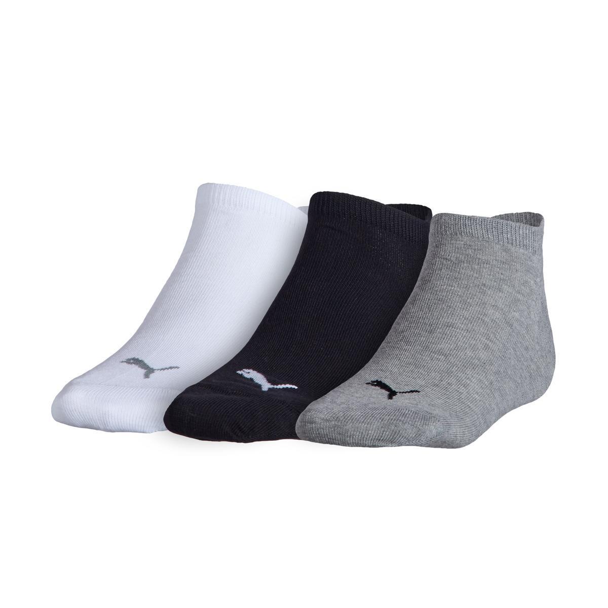 PUMA 3 pack Of Plain Sneaker Socks for Men Lyst