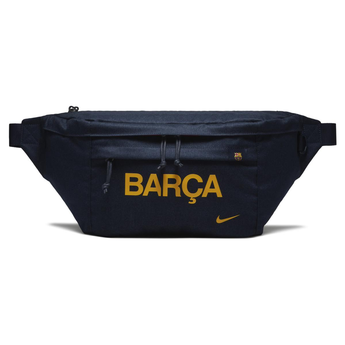 5074acd209 Nike Fc Barcelona Stadium Tech Bum Bag in Blue for Men - Lyst