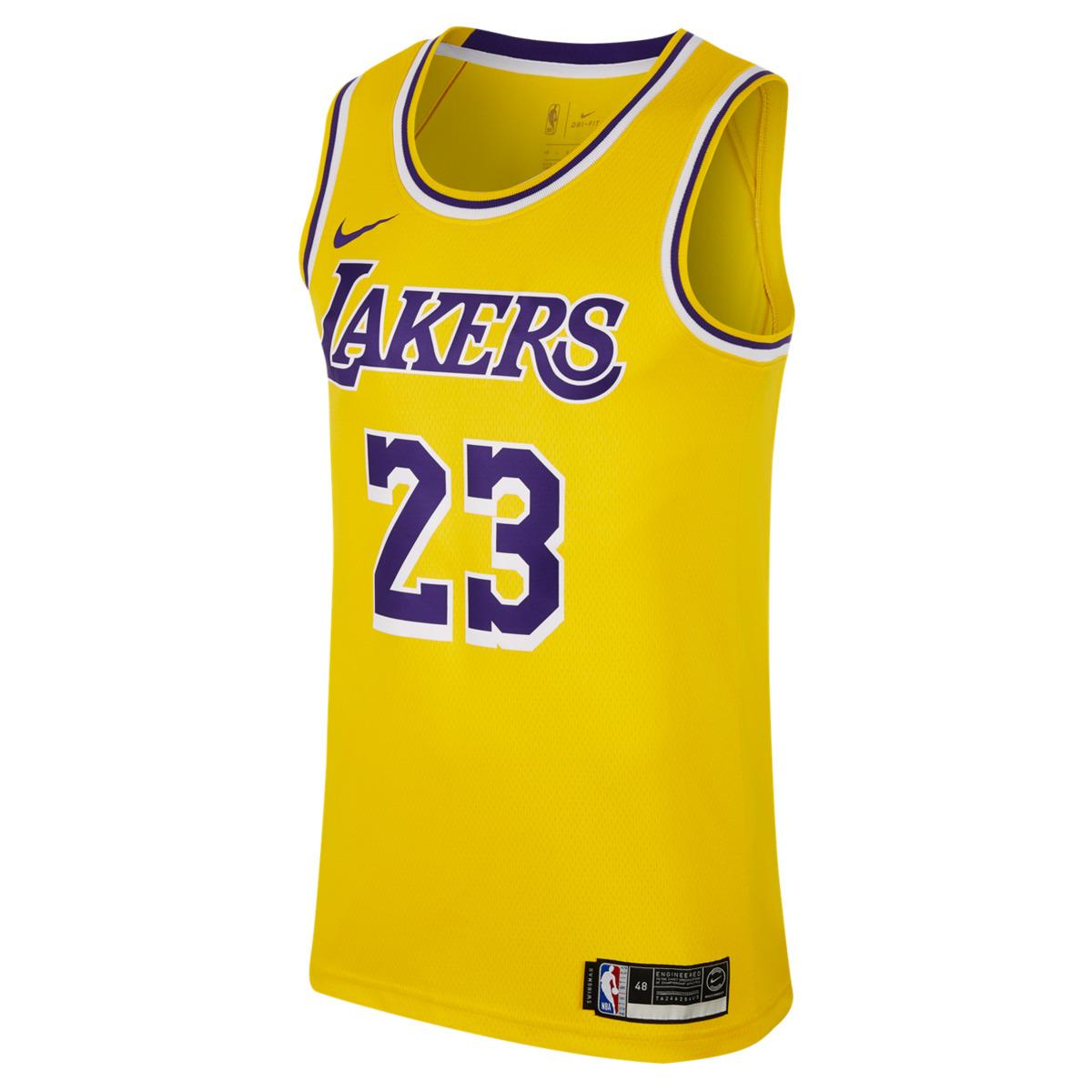 f2ca286685f0d Lyst - Nike Los Angeles Lakers 2018-2019 Lebron James Icon Edition ...