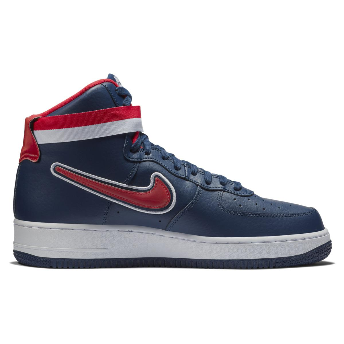 Nike Leather Air Force 1 High 07 Lv8 Sport Casual Trainers