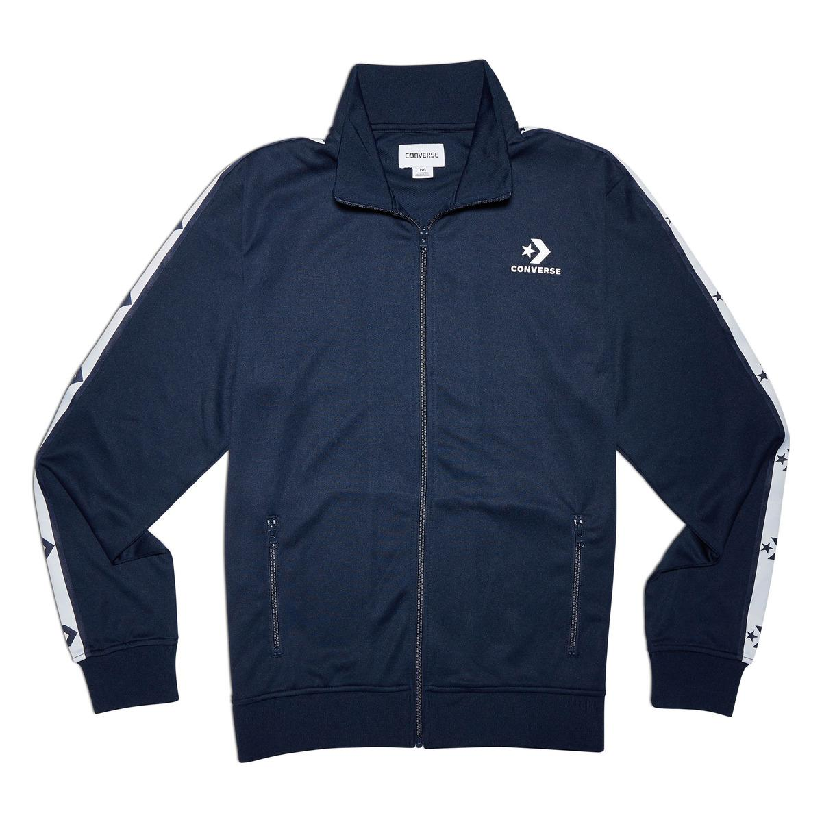 Converse Star Chevron Track Jacket in Blue for Men - Lyst 2f7016697