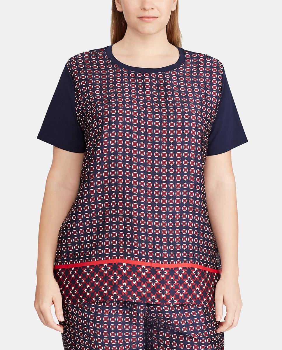 30d7ab4e769c0 Denim   Supply Ralph Lauren. Women s Plus Size Geometric Print T-shirt