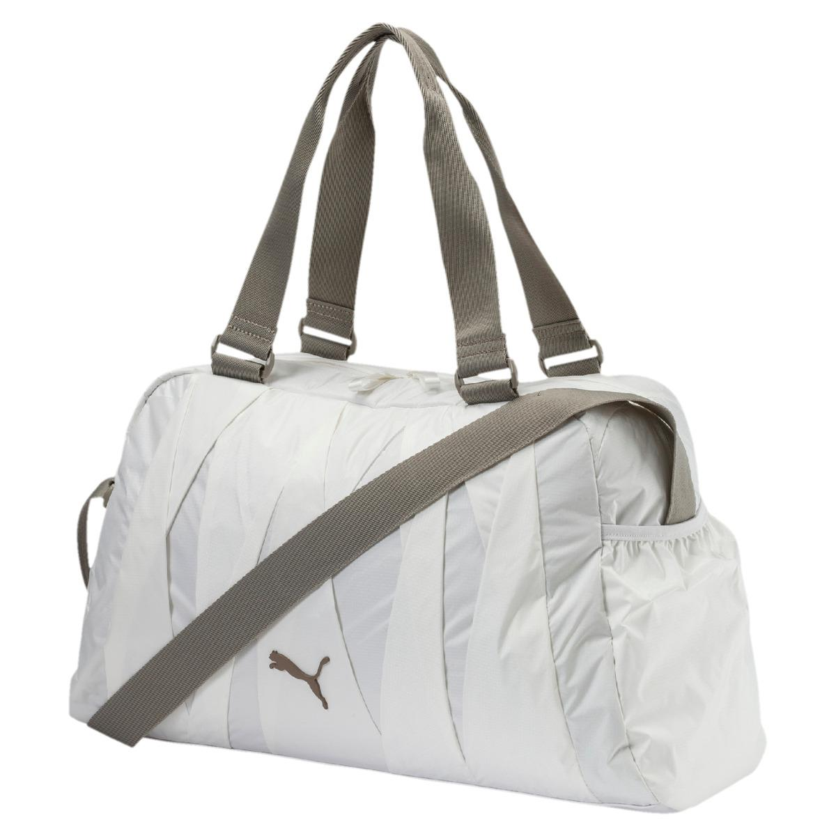 59c05dc6103 PUMA En Pointe Sports Bag in White for Men - Lyst