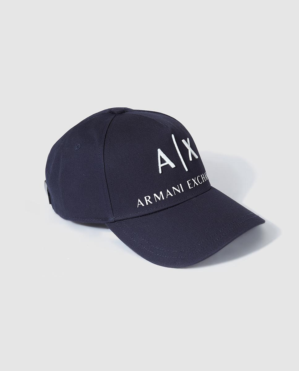 0780c0cfb71 Armani Exchange Mens Classic Navy Blue Cap in Blue for Men - Lyst