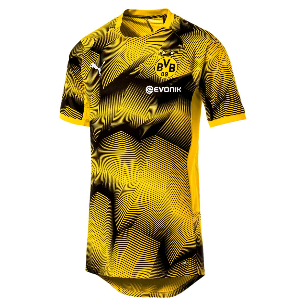 490ea1e7200 PUMA. Men's Yellow Borussia Dortmund Bvb 2018-2019 Stadium Graphic T-shirt.  £47 From El Corte Ingles
