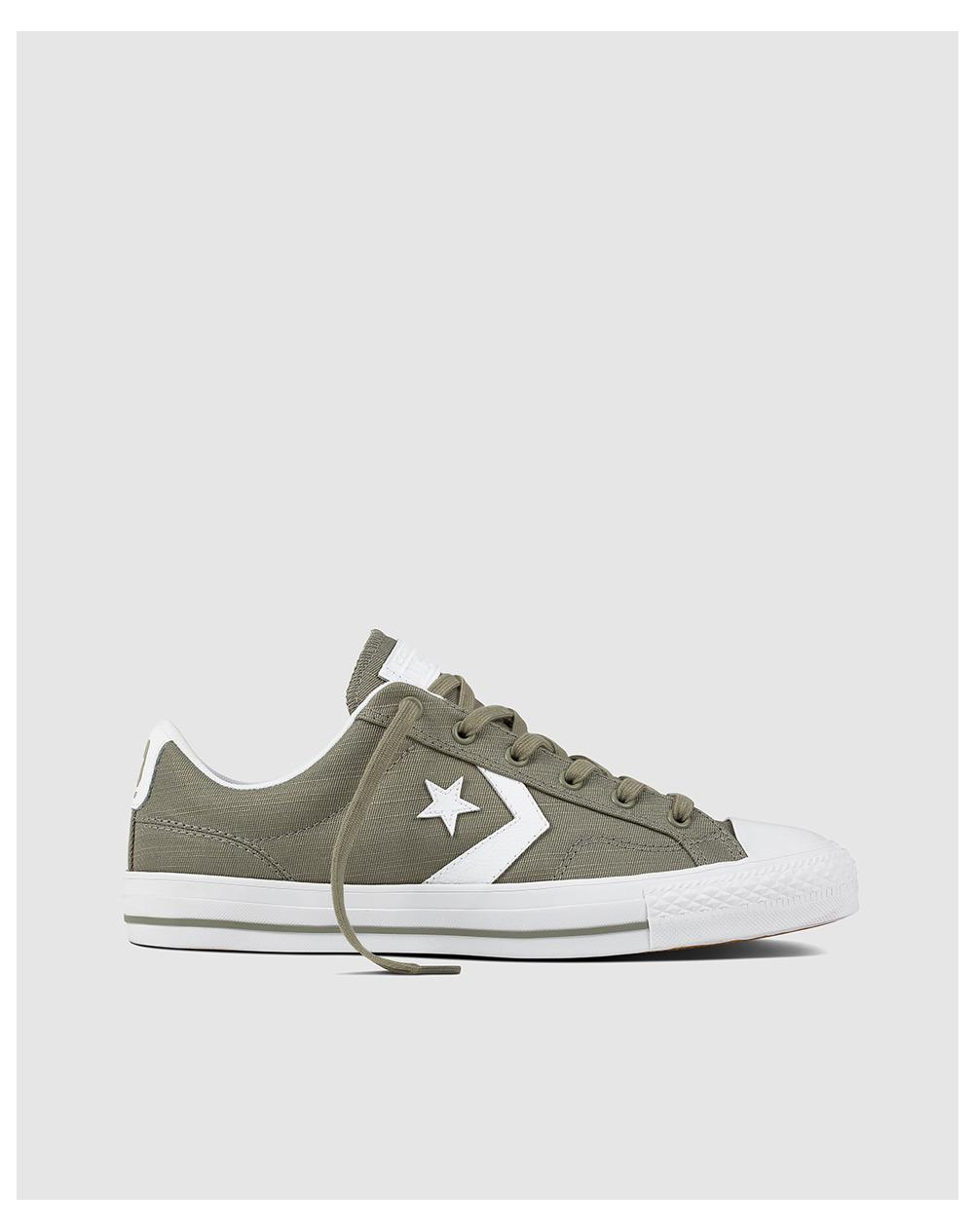 e95d2ad5292 Converse Star Player Ox Casual Unisex Trainers in Green for Men - Lyst