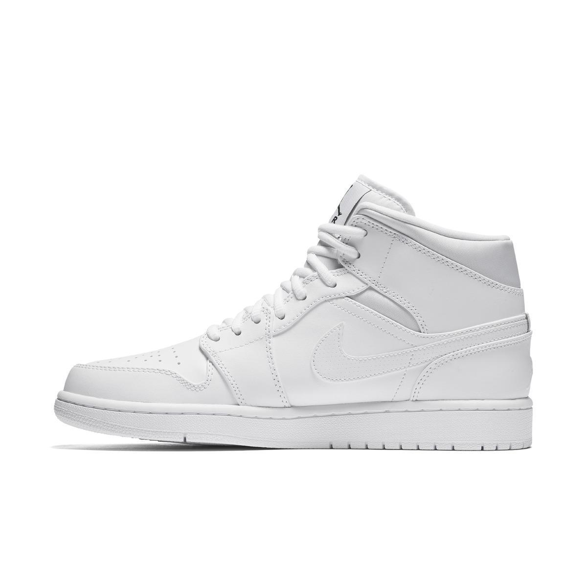 Lyst Mid Nike Air Jordan 1 Mid Lyst Casualwear Formadores En Blanco Para Los Hombres 4686f7