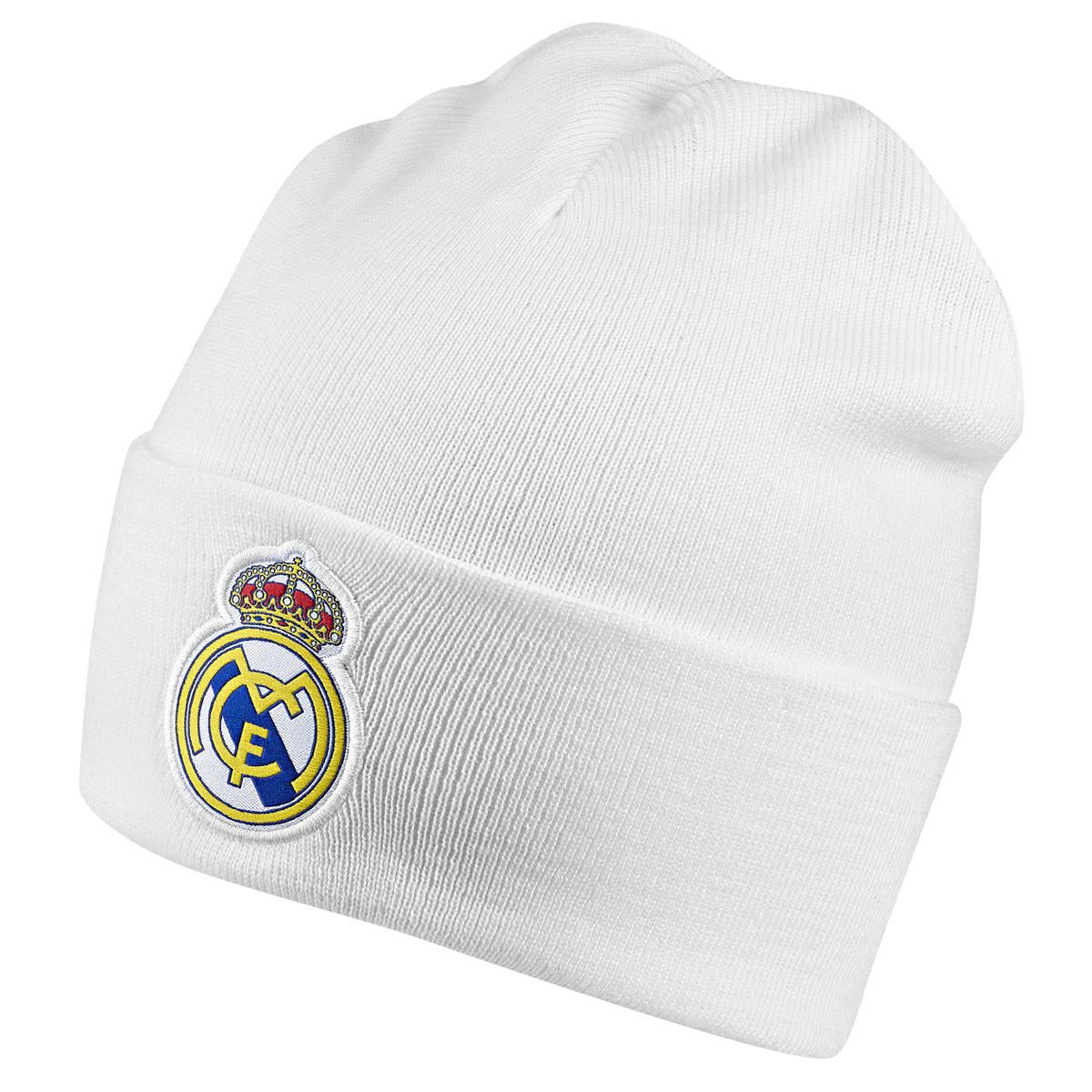 adidas Real Madrid Cf Hat in White for Men - Lyst d4c3bd0502c