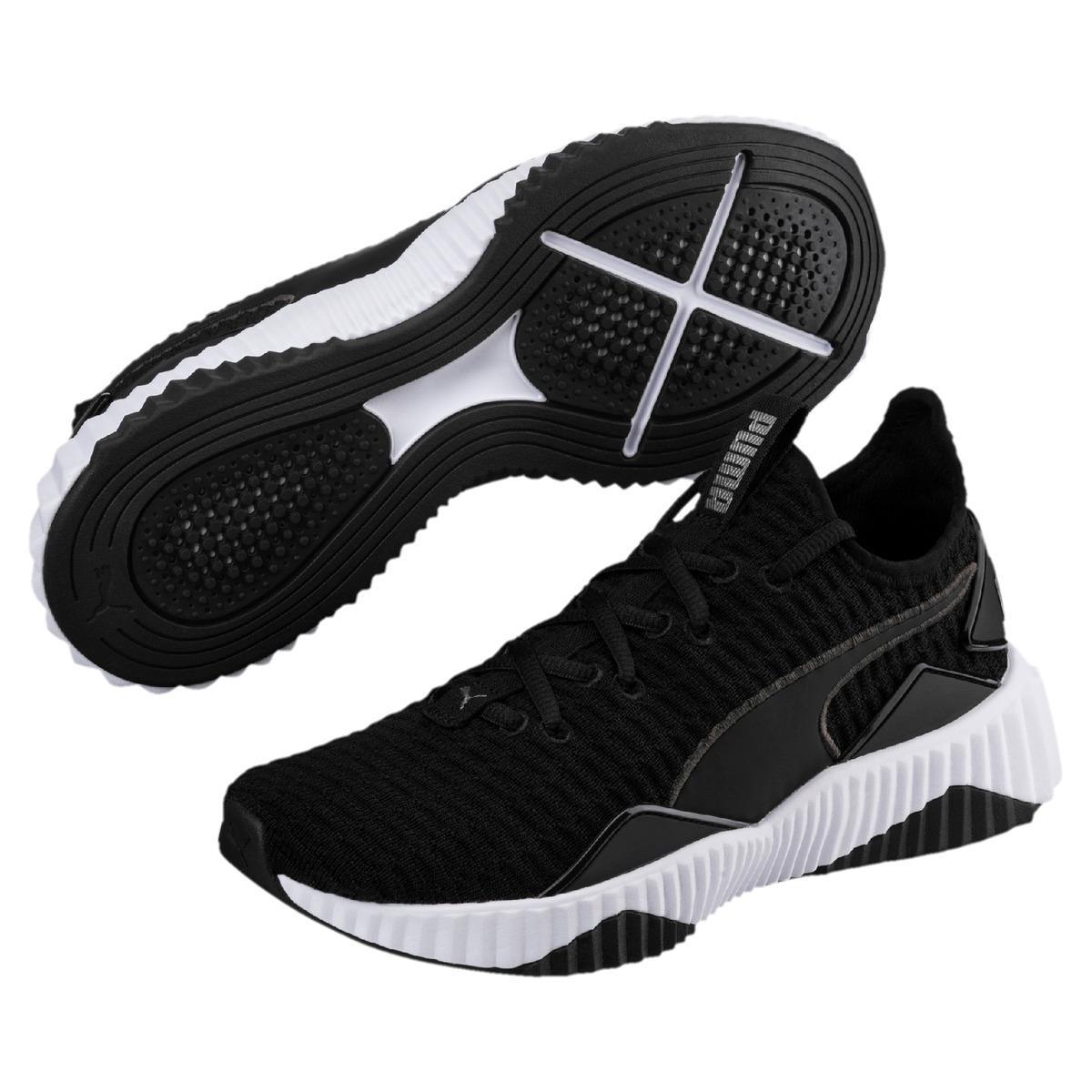 b05e7c7712eea4 Puma Defy Fitness cross Training Shoes in Black - Lyst