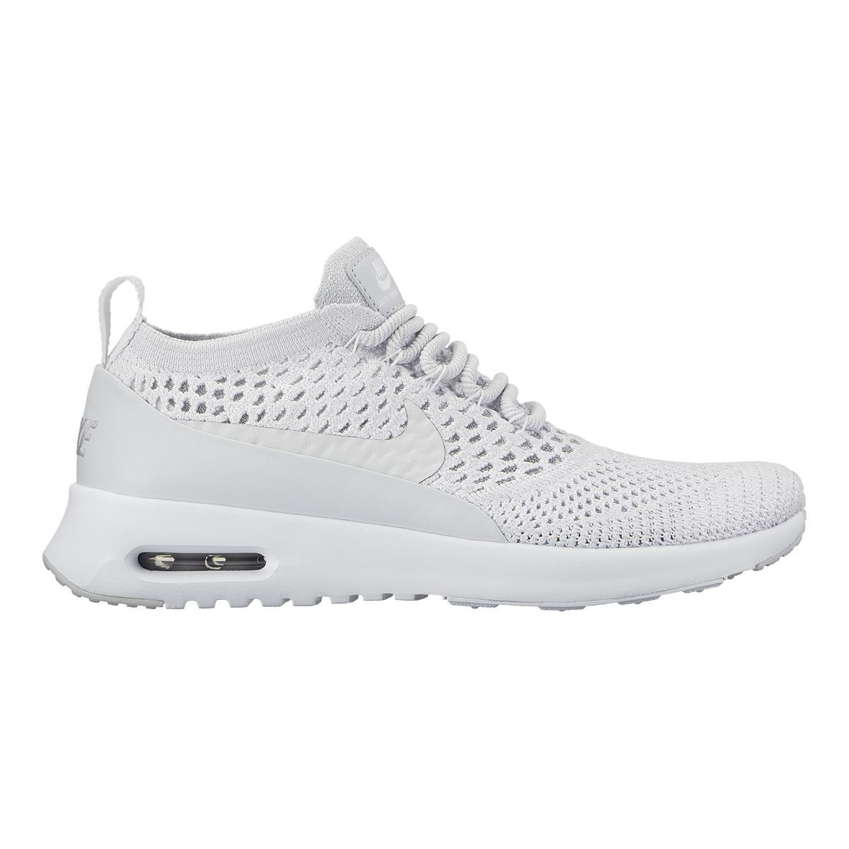 70f67b30a2cc7 Nike Air Max Thea Ultra Flyknit Casual Trainers in White for Men - Lyst