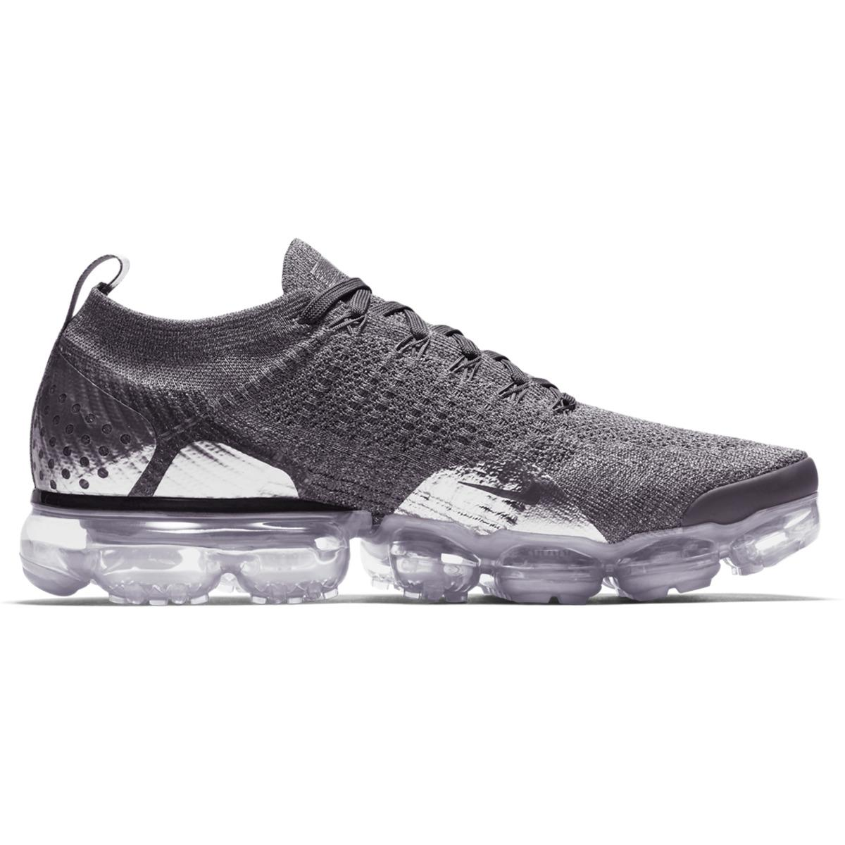 763ac0ebcd8a Nike Air Vapormax Flyknit 2 Casual Trainers in Gray for Men - Lyst