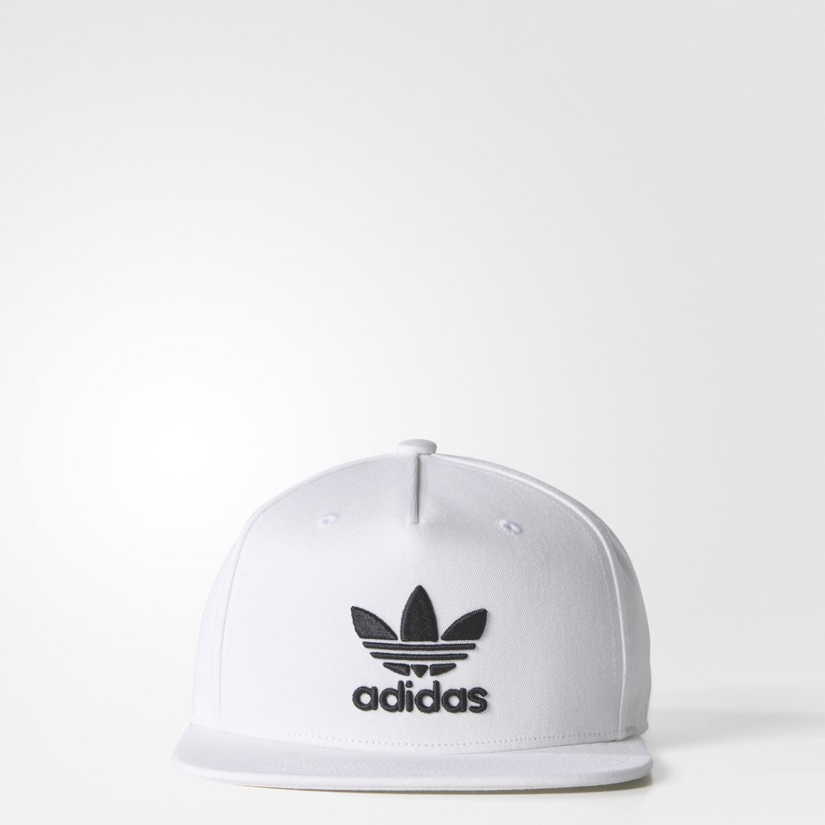 44b2775d Lyst - adidas Originals Trefoil Snb Unisex Baseball Cap in White for Men