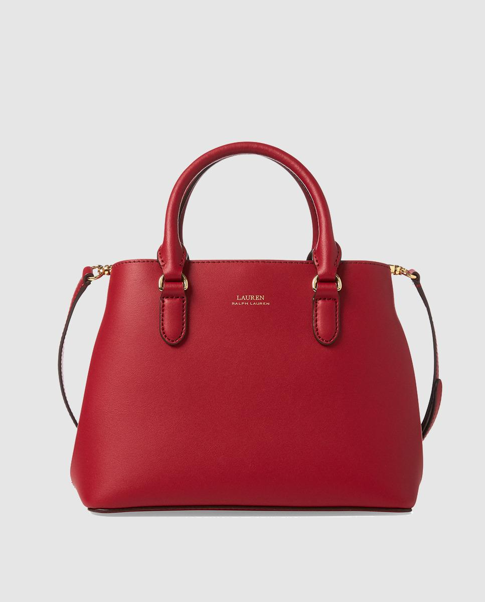 0982fb40ef1b Lauren by Ralph Lauren. Women s Red Leather Handbag With Brand Detail. £205  From El Corte Ingles