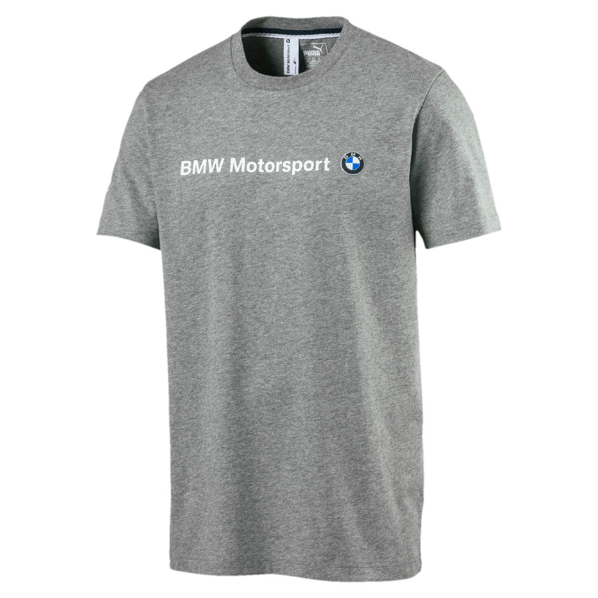 5746cc02f1f Lyst - PUMA Bmw Msp Logo T-shirt in Gray for Men