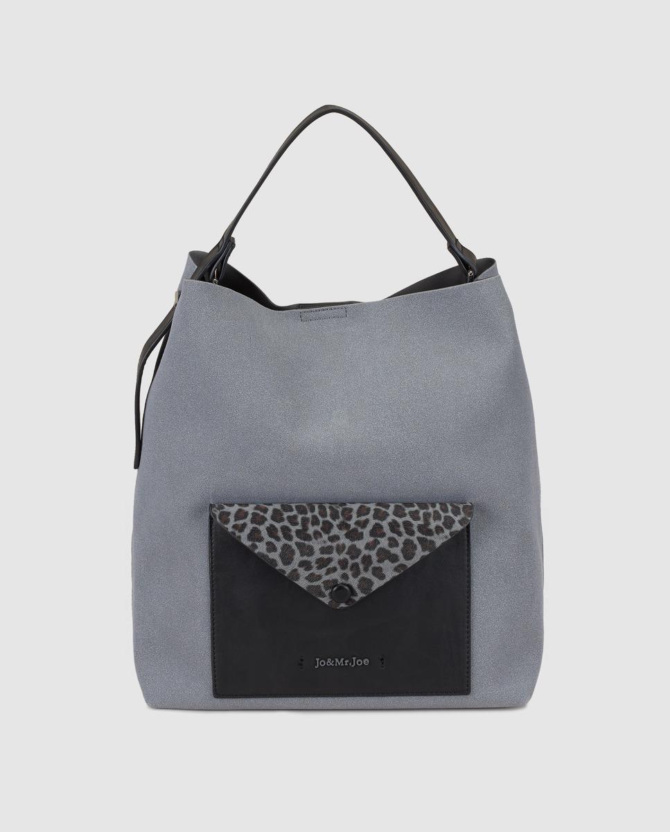 Jo   Mr. Joe Karnivool Grey Hobo Bag With Outer Pocket in Gray - Lyst f44626b80d145