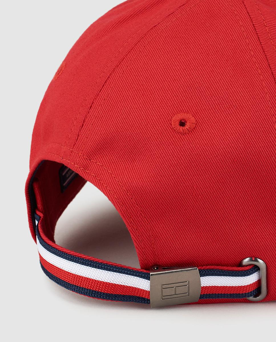 df07274268d Lyst - Tommy Hilfiger Burgundy Cotton Baseball Cap in Red for Men