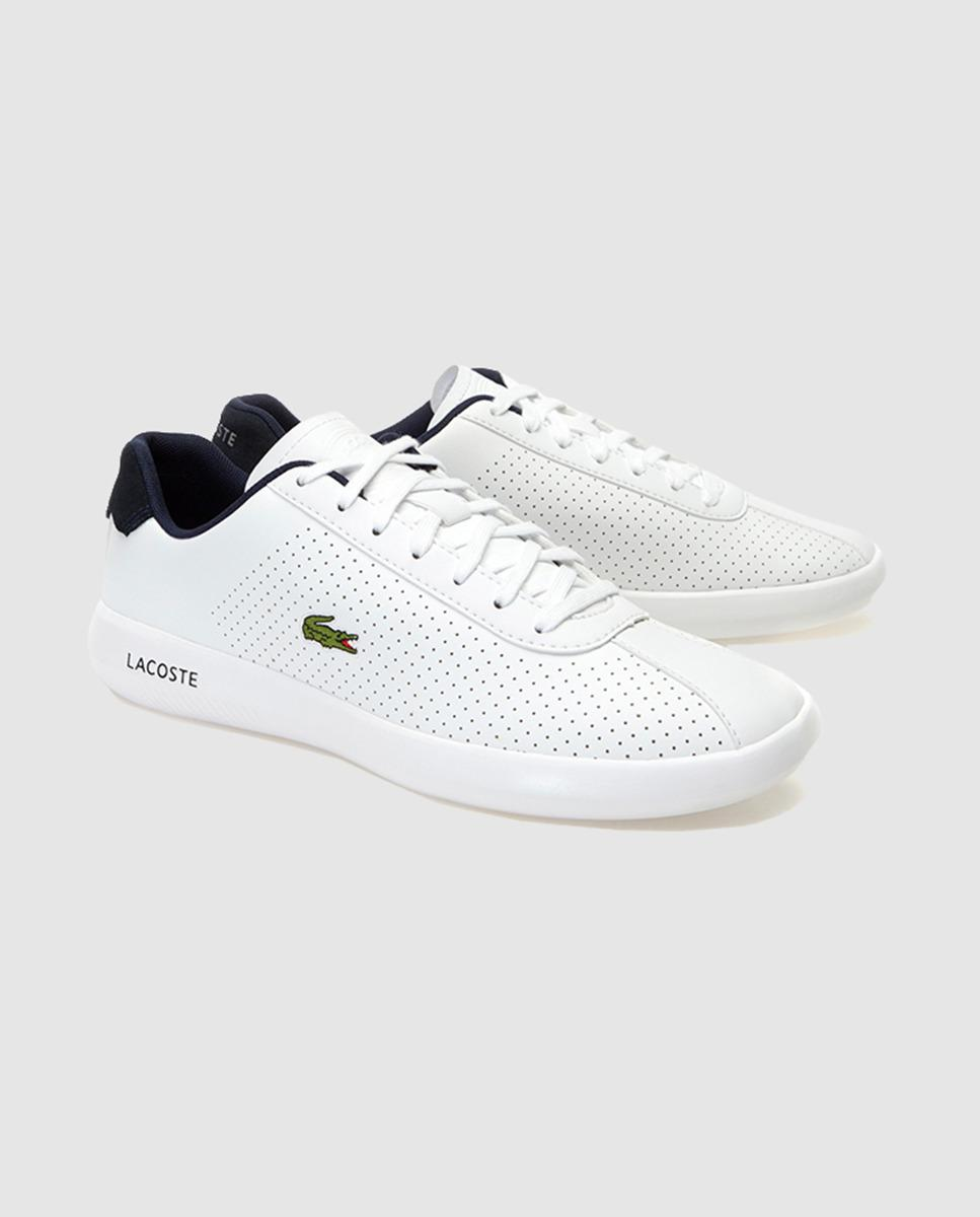 a1f8e5b41 Lacoste White Lace-up Trainers in White for Men - Lyst