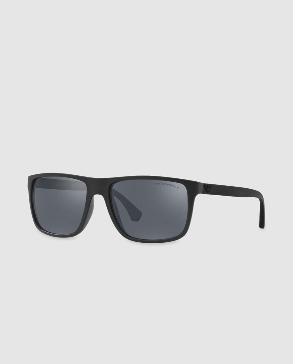 9ec6a277df0d Lyst - Emporio Armani Tommy Hilfiger Injected Black Sunglasses With ...