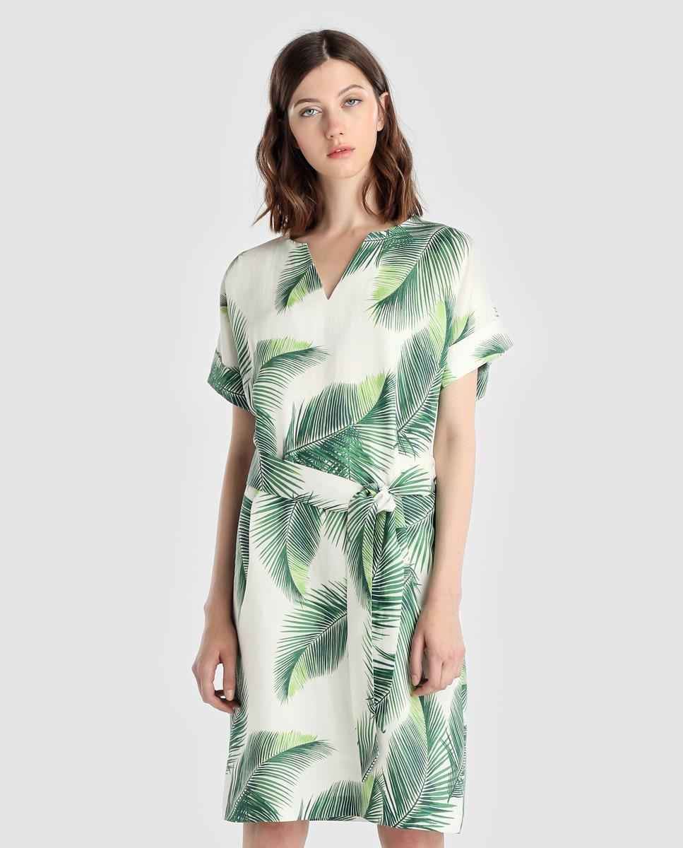 Short Leaf Dress