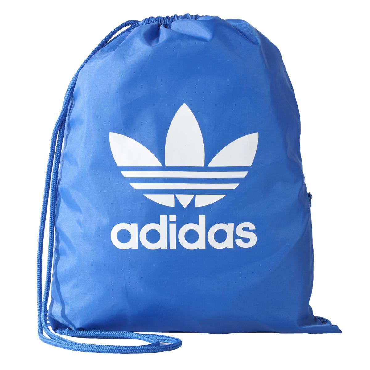 Adidas Originals. Men's Blue Gymsack Trefoil