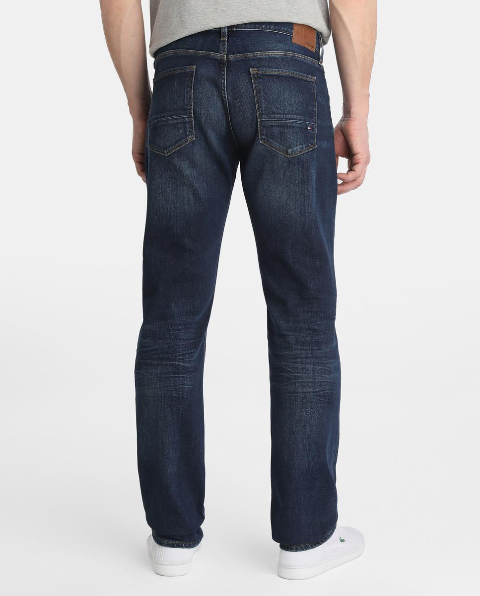 1583ecafc Tommy Hilfiger Regular-fit Blue Jeans in Blue for Men - Lyst