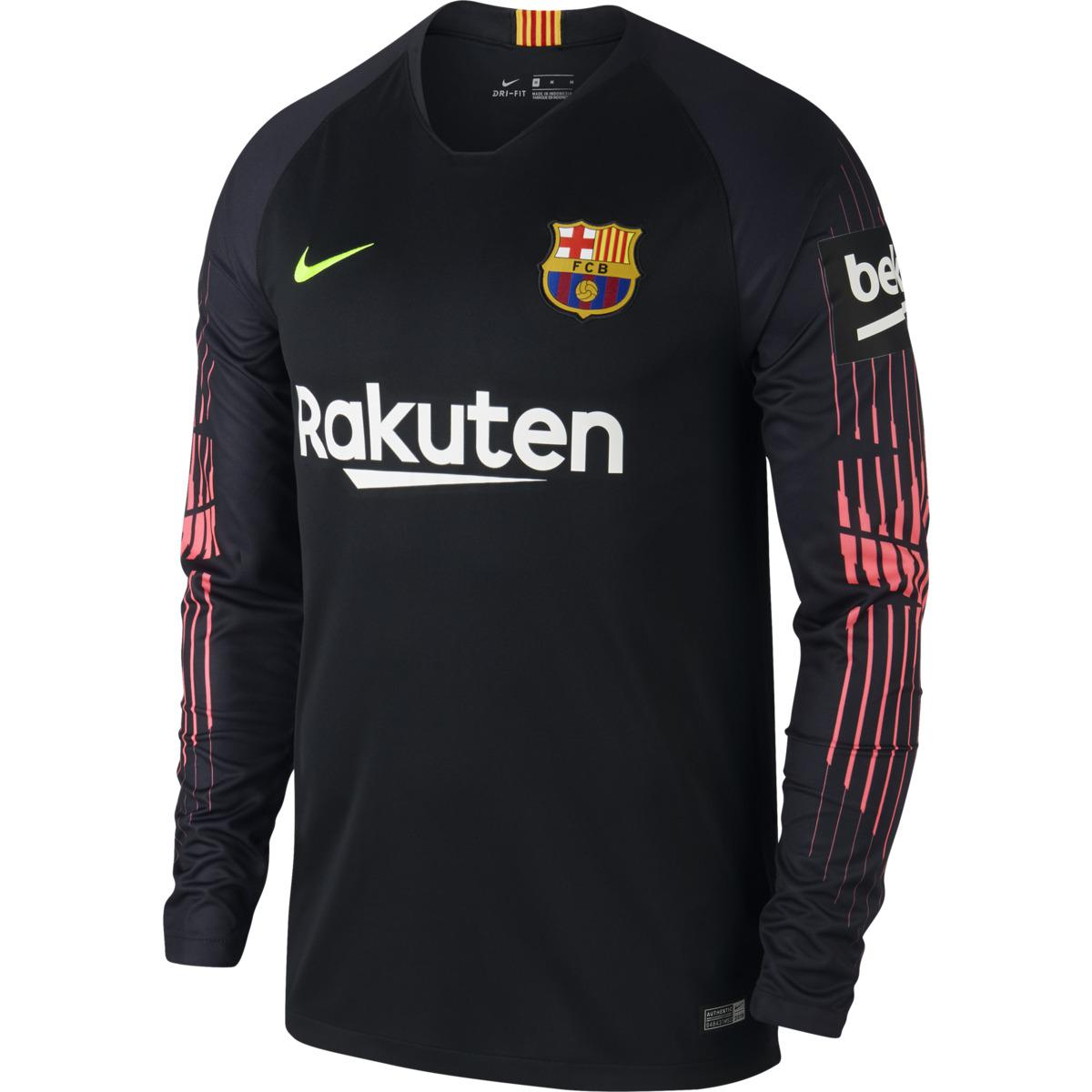 Fc In Breathe 2018 Stadium Nike 2019 T Shirt Barcelona Goalkeeper pWfzIqn7d