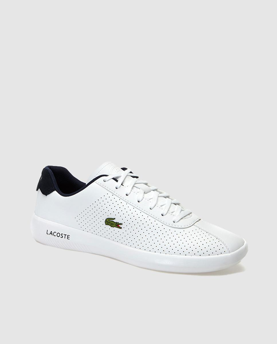 da2c4a3ff Lacoste - White Lace-up Trainers for Men - Lyst. View fullscreen
