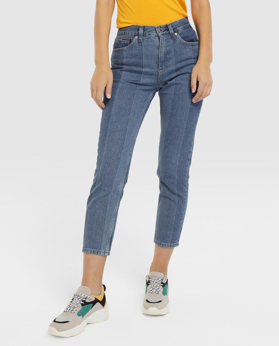 2f58f22e Lyst - Tommy Hilfiger Izzy Slim-fit Cropped Jeans in Blue