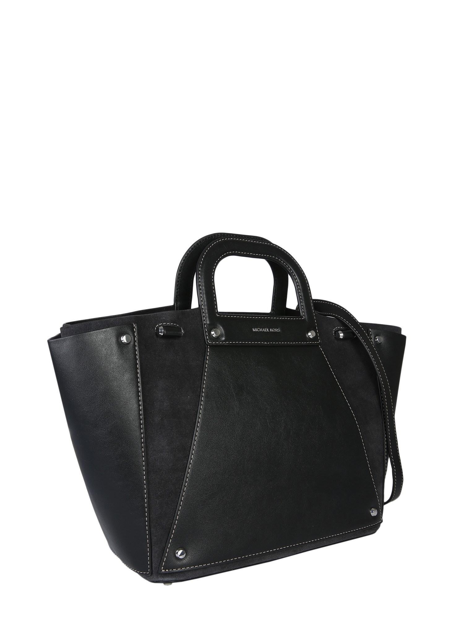 MICHAEL Michael Kors - Brown Large Clara Leather Tote Bag - Lyst. View  fullscreen d63c3cf6a