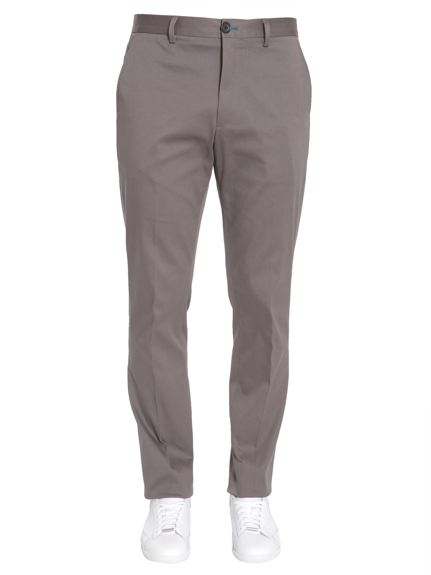 Cheap Lowest Price patterned track chinos - Blue Paul Smith Best Seller Online Outlet Where To Buy yDlDB4xo