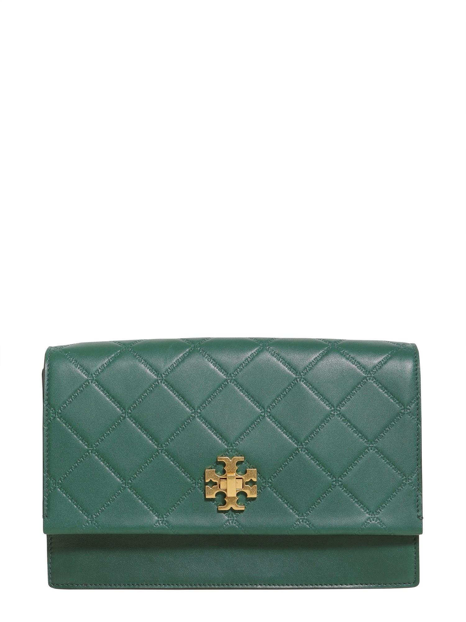Lyst Tory Burch Georgia Quilted Leather Crossbody Bag In