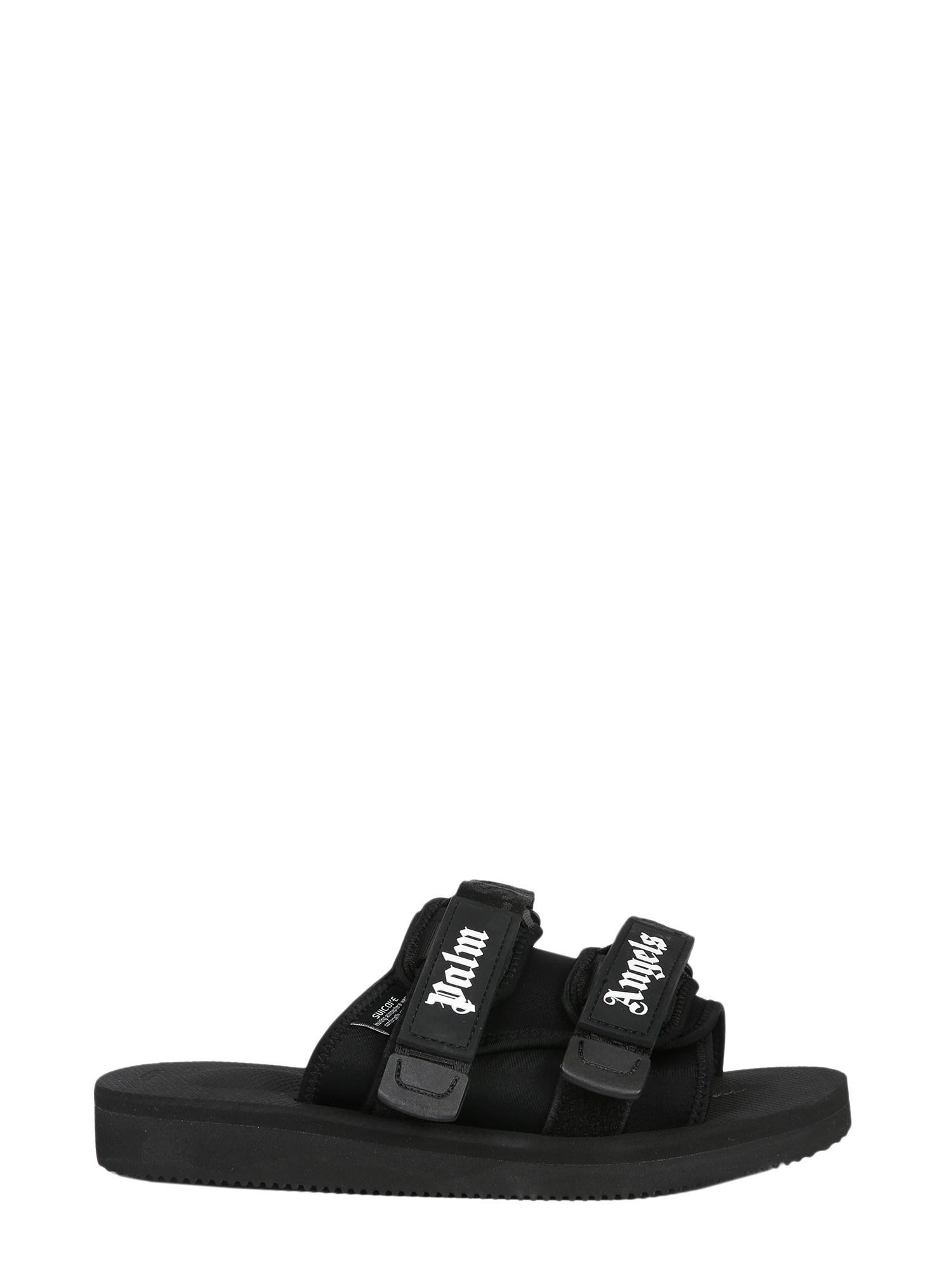 33d310885460 Palm Angels - Black Suicoke Sandals In Neoprene for Men - Lyst. View  fullscreen