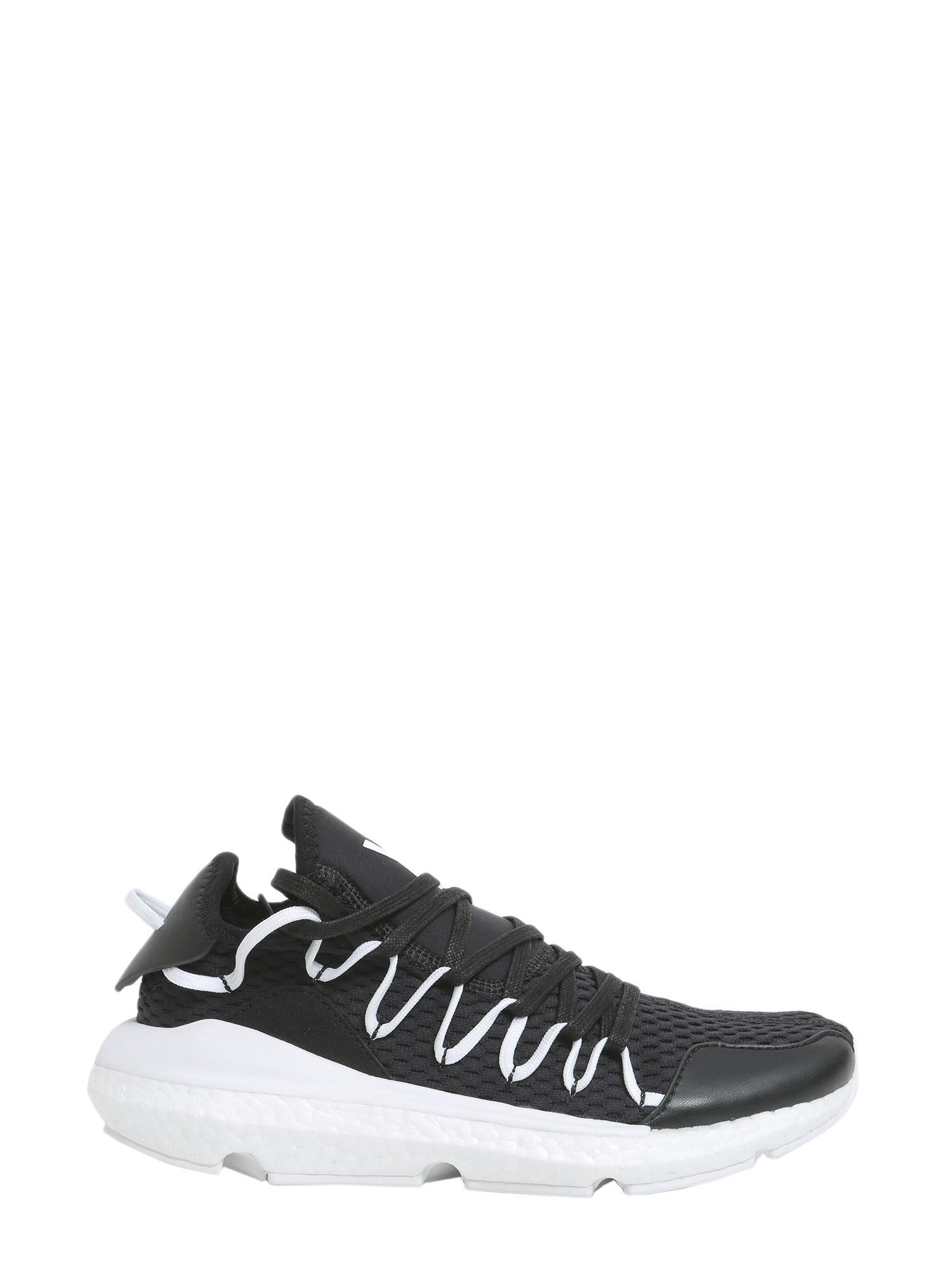 68b677eab Lyst - Y-3 Kusari Purboots Sneakers in Black for Men
