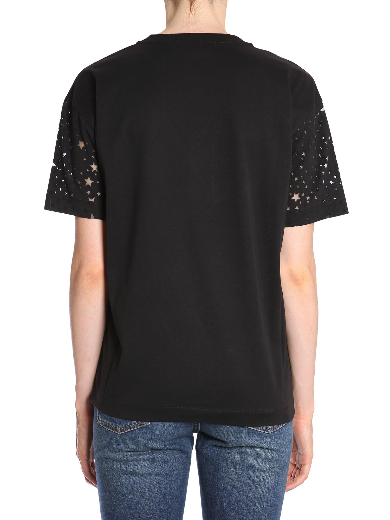 13fbd97ef2a stella-mccartney-BLACK-Round-Collar-Cotton-Jersey-T-shirt-With-Carved-Stars.jpeg