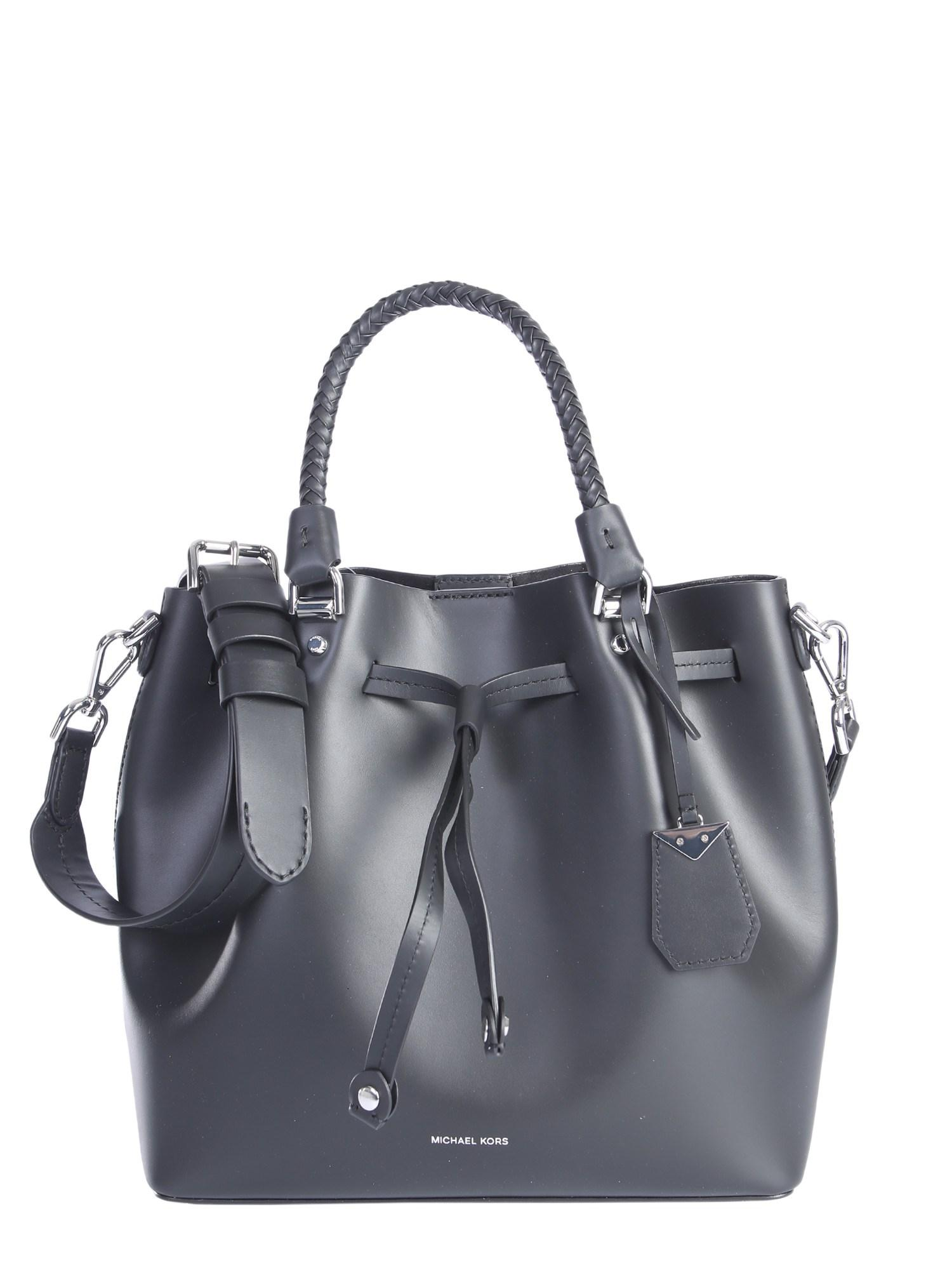 7ef4958513e4 MICHAEL Michael Kors Blakely Leather Bucket Bag in Black - Lyst