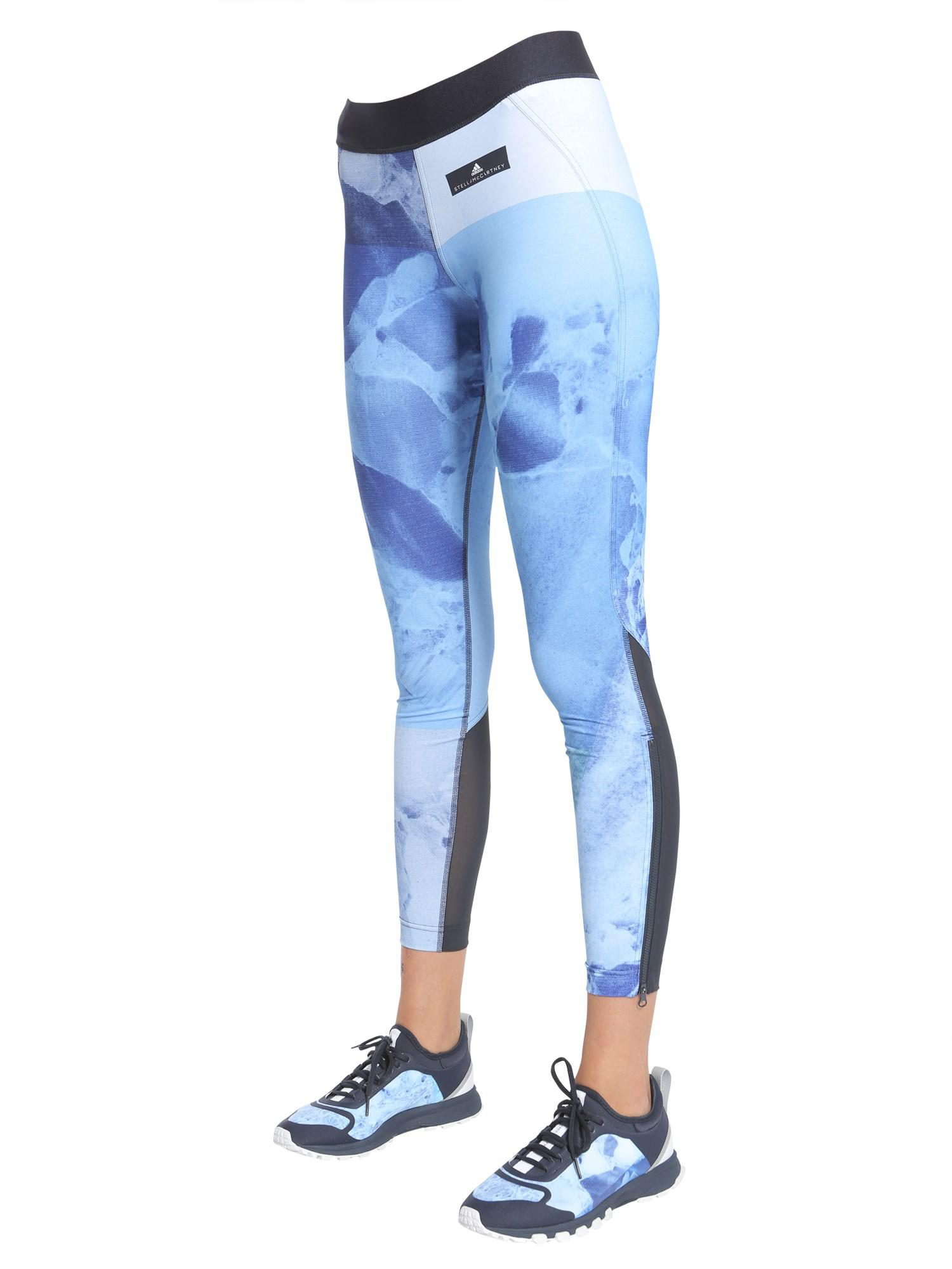 newest 3de48 38913 Lyst - Adidas By Stella Mccartney Tight Run Climacool Stone ...