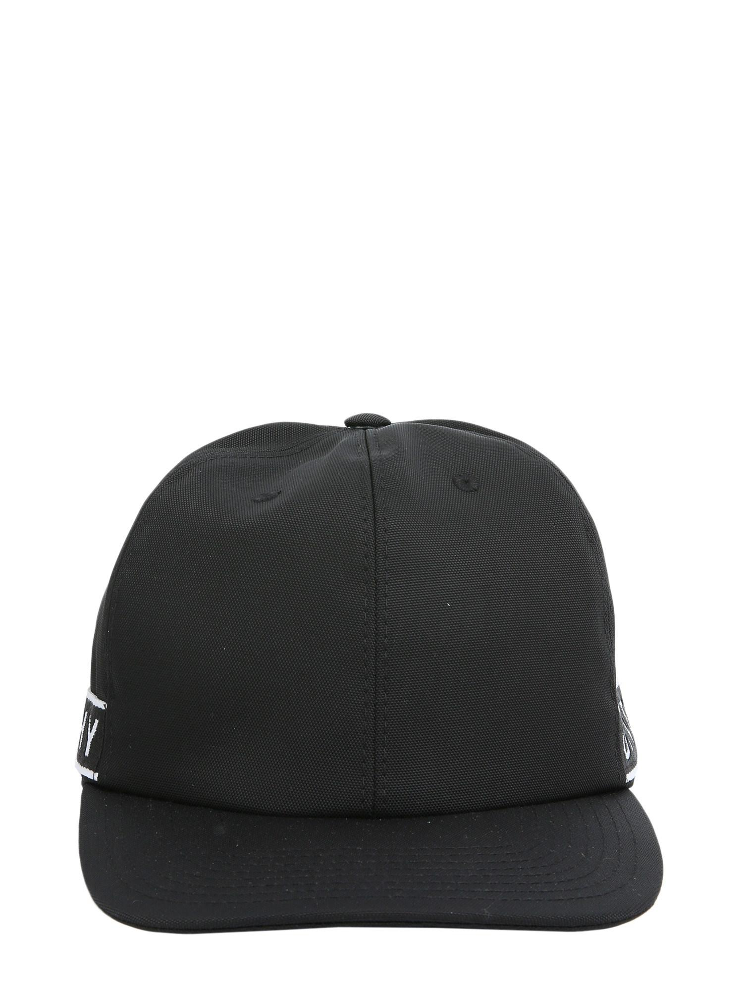 8b3bbcb094e Givenchy Baseball Cap With Logo In Technical Fabric in Black for Men ...