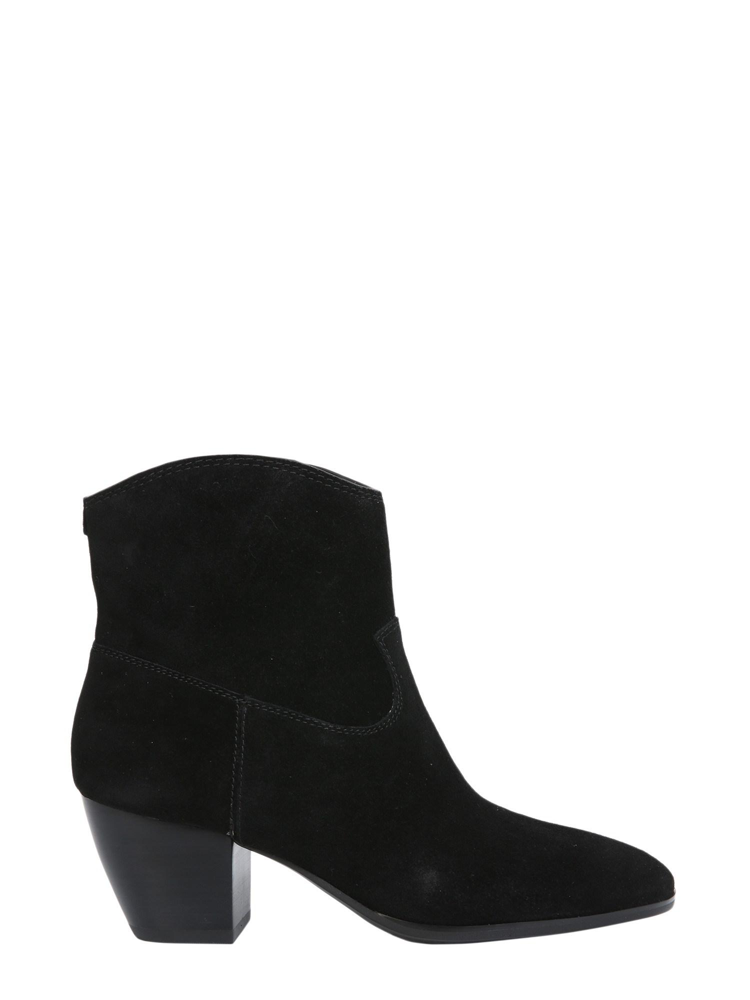 883e4e9e688 Lyst - MICHAEL Michael Kors Avery Suede Boots in Black