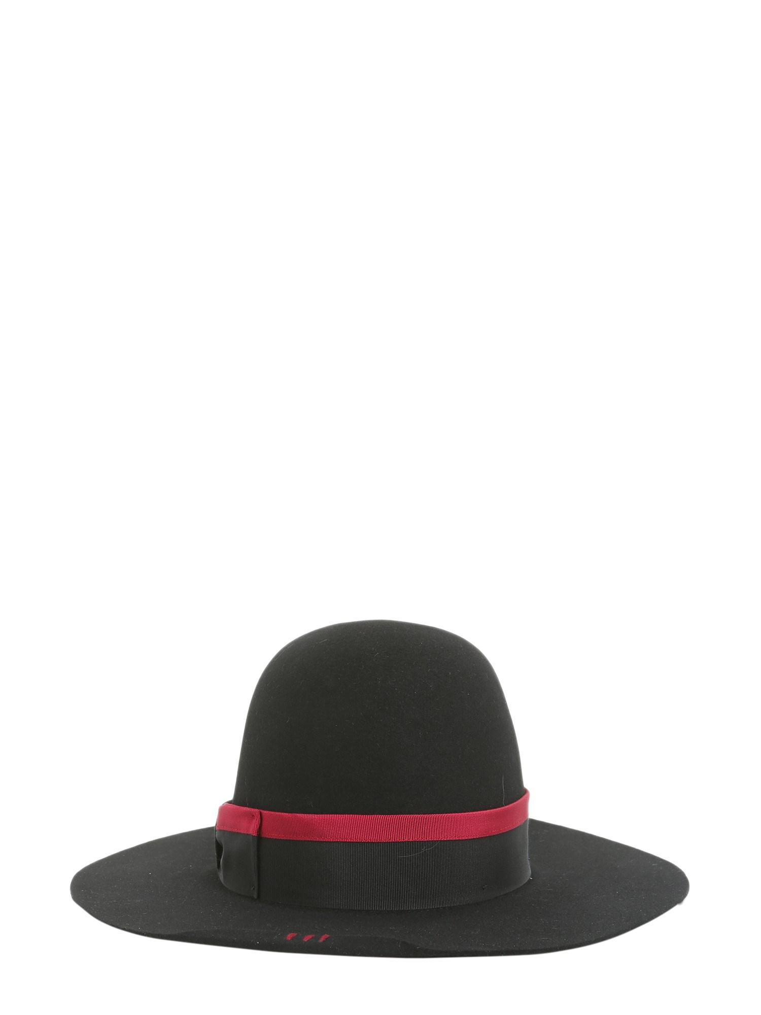 Borsalino Cappello Beaver Nick Fouquet Edizione Limitata in Black - Lyst 7209d2f99b0e