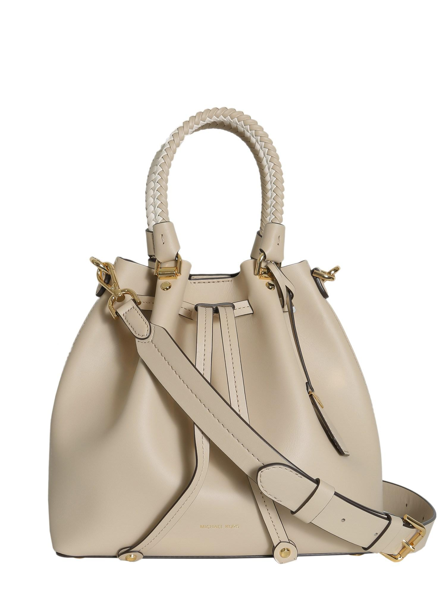 78f545954a ... reduced lyst michael michael kors blakely medium leather bucket bag  cce98 fa512