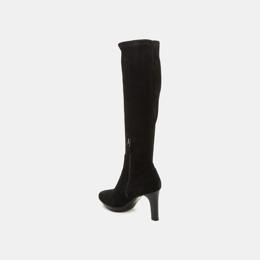 b300cf45e4f Aquatalia - Black Rhumba Knee High Boot - Lyst. View fullscreen
