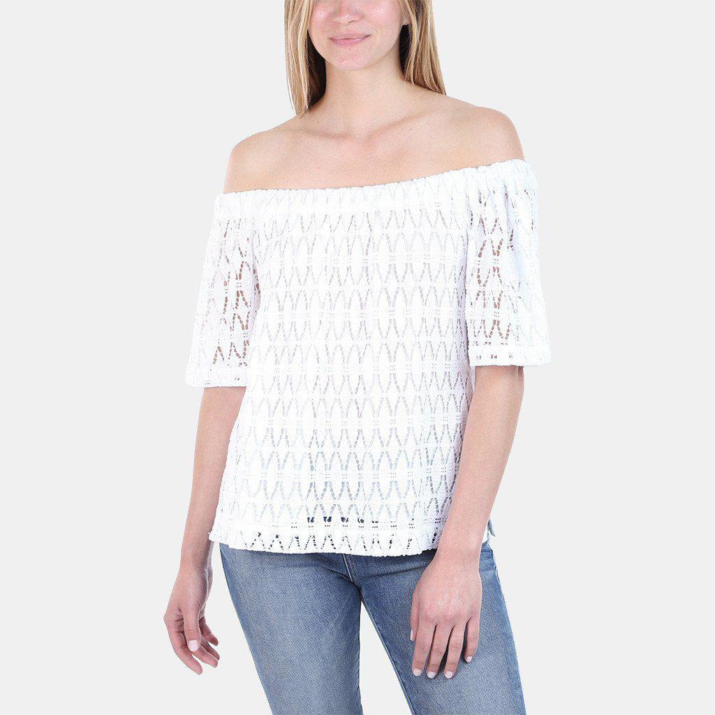 e7a9af3ed1d A.L.C. Cheyenne Off-the-shoulder Top in White - Save 46% - Lyst